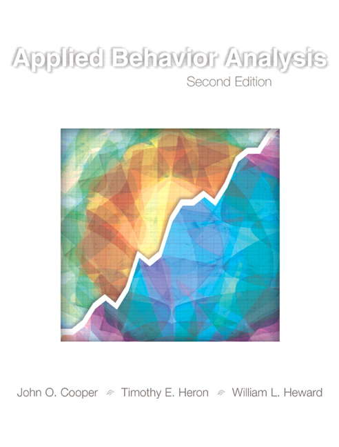 Applied Behavior Analysis By Cooper, John O./ Heron, Timothy E./ Heward, William L.