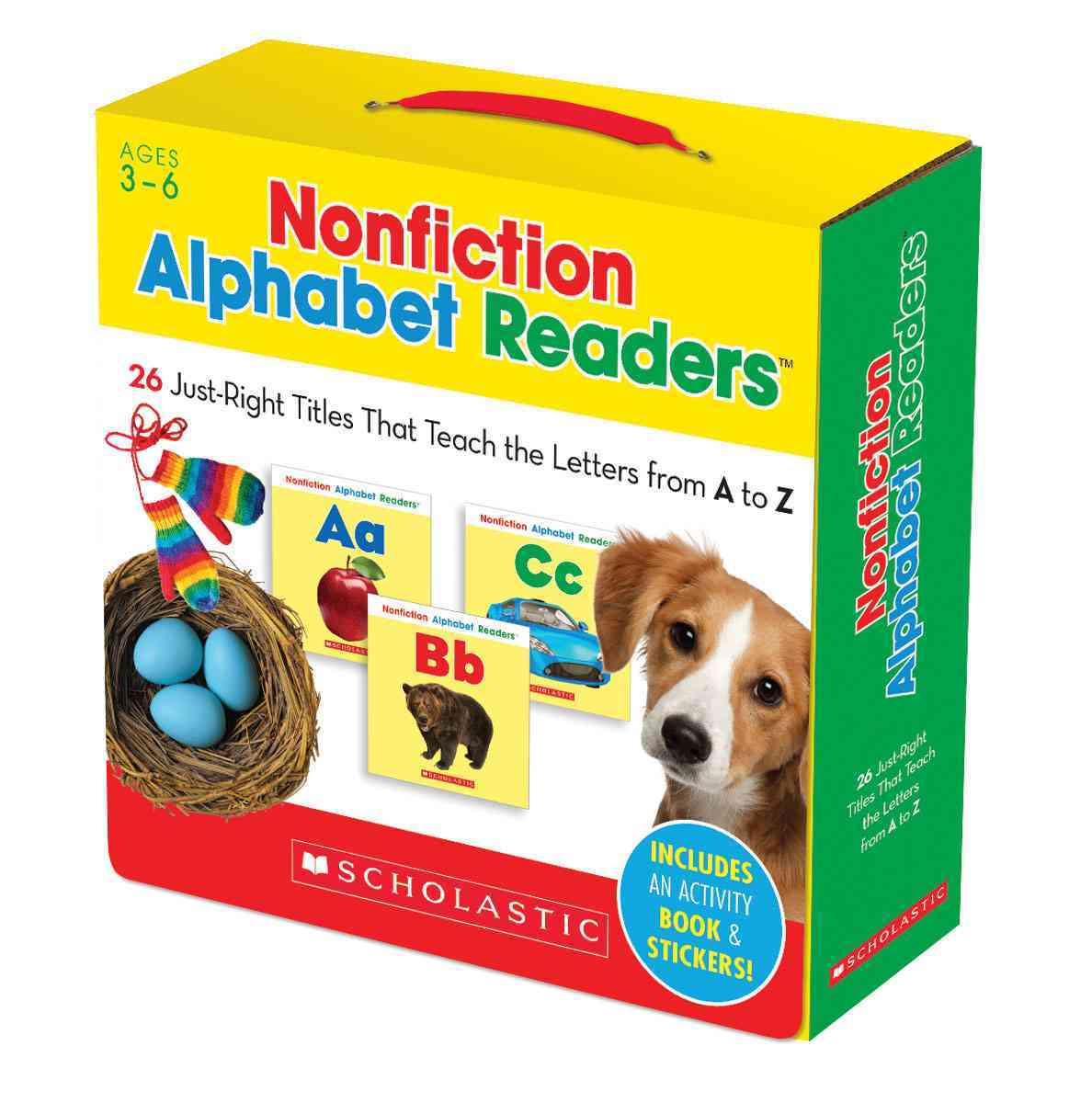Nonfiction Alphabet Readers Parent Pack By Charlesworth, Liza
